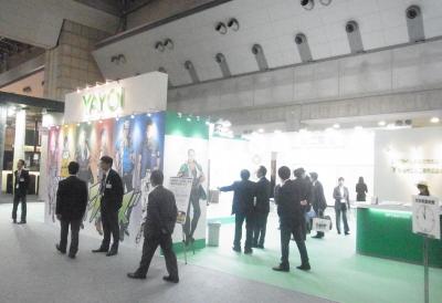 JAPANTEX 2014 会場風景 6